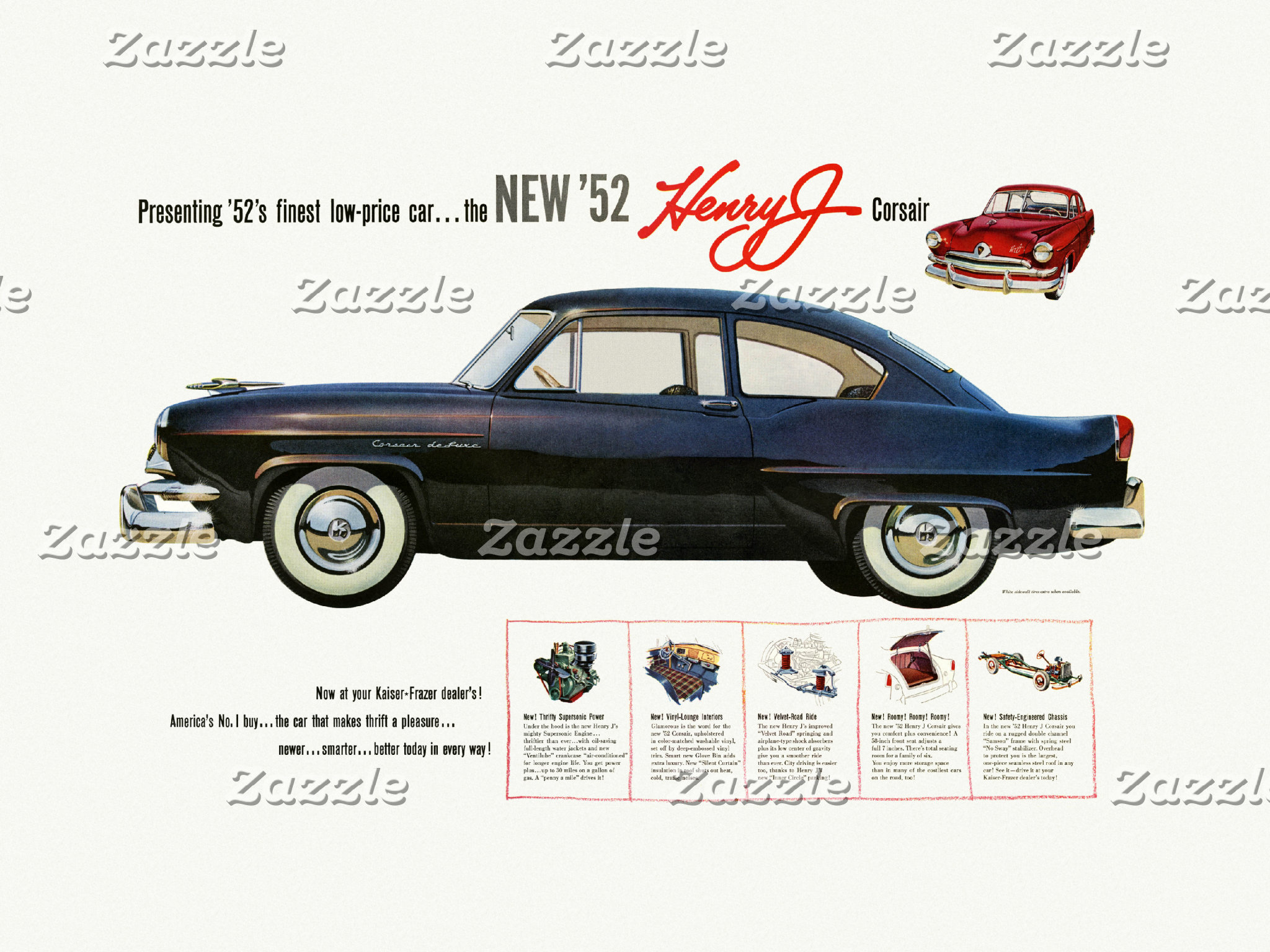 Vintage Automobile Ads