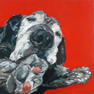 Labrador Retriever Dog Art