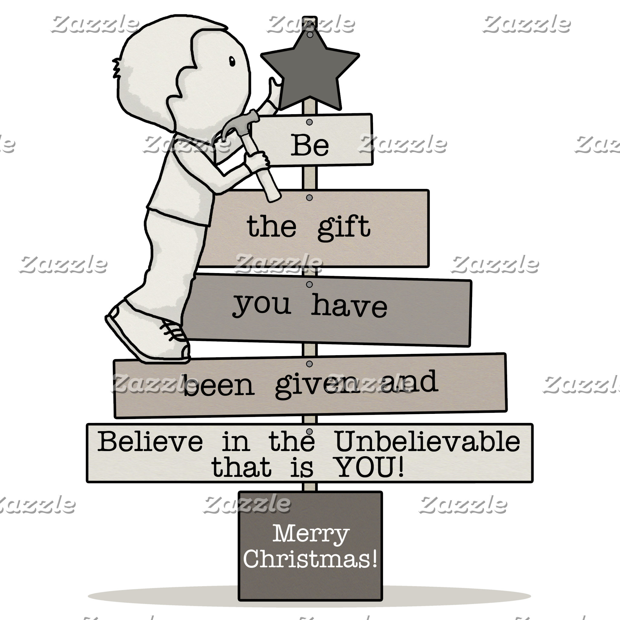 Be the Gift-Christmas Tree