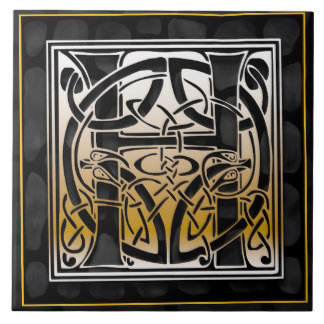 A-Z Celtic Black Stone Tiles