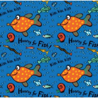 Hooray For Fish Pattern