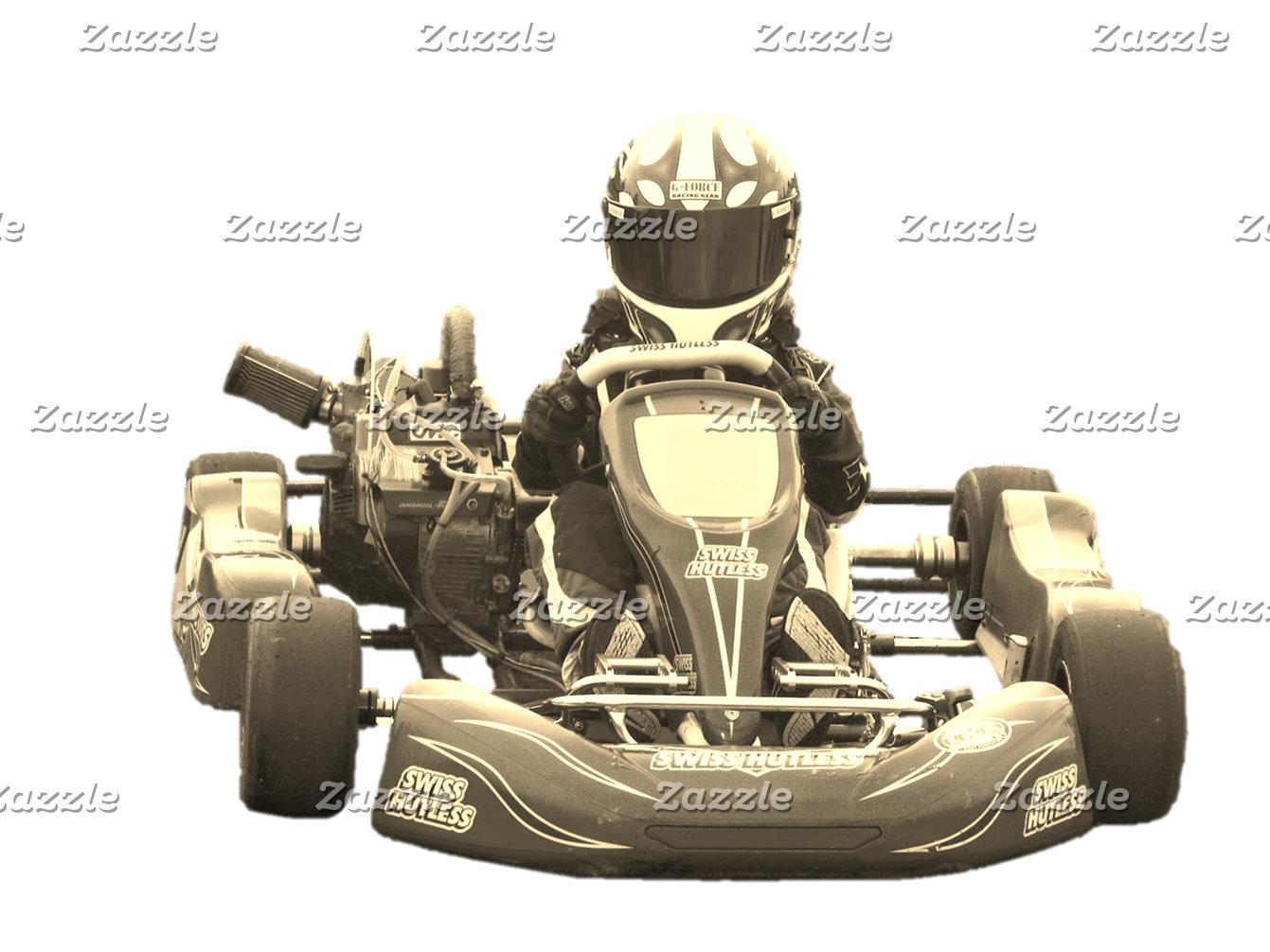 Kart Racer Antiqued