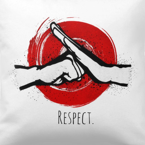 Martial Arts Respect on white