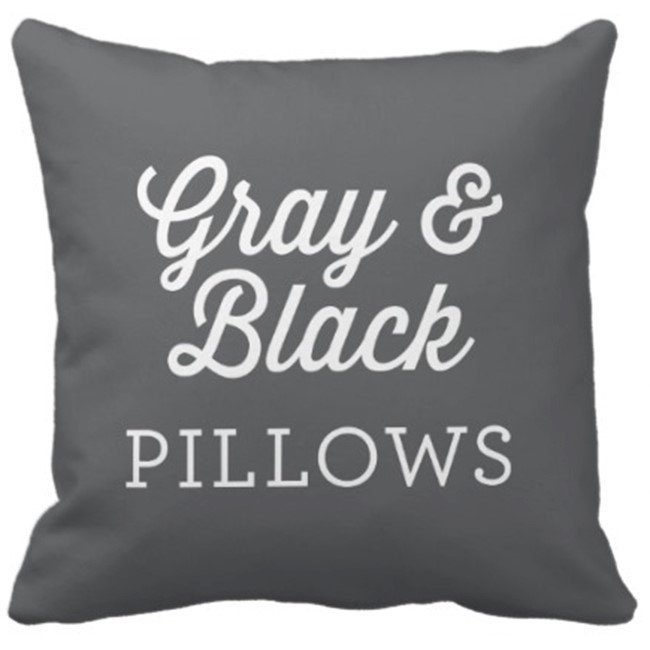 Gray and Black