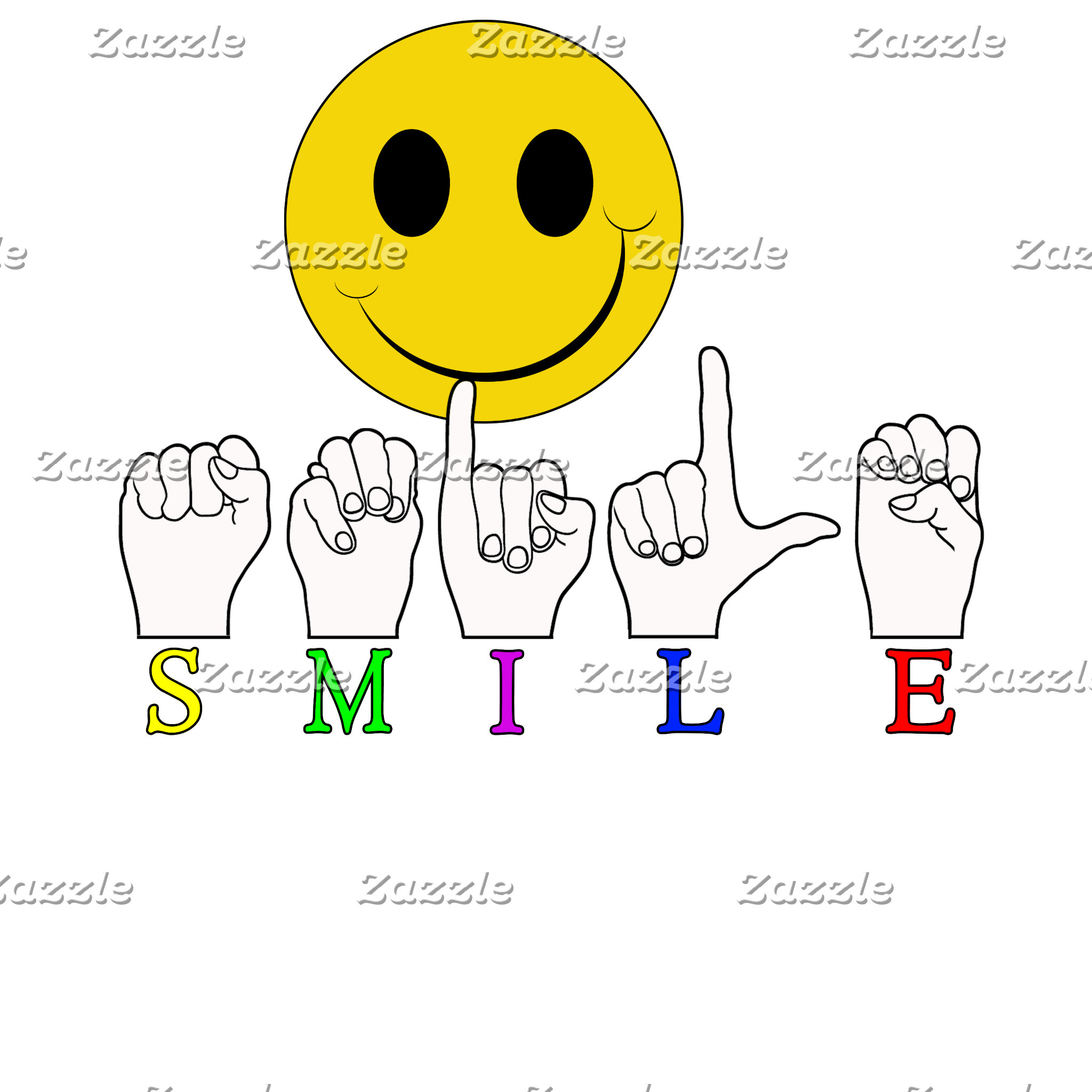SMILEY FACE ASL SIGN LANGUAGE