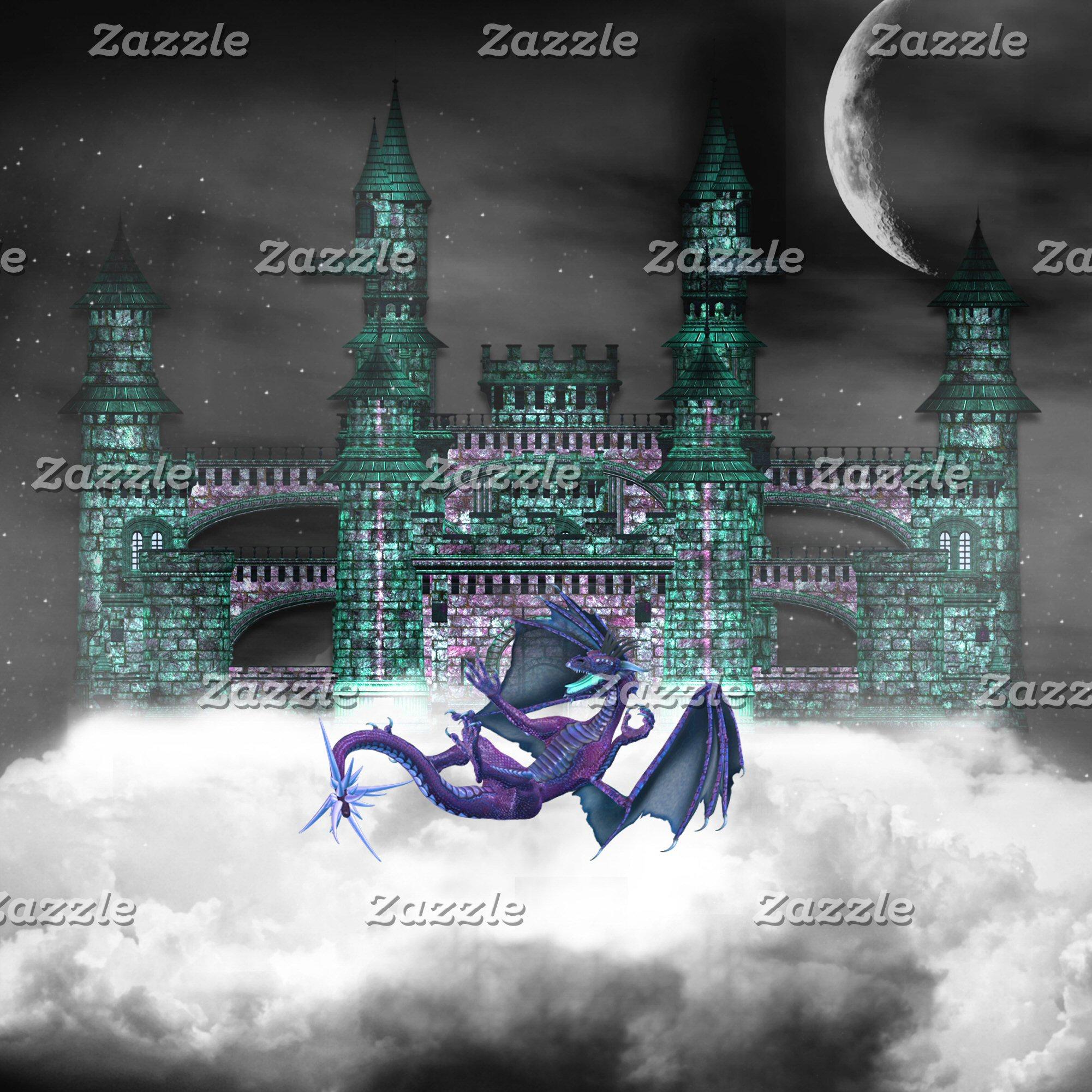 Dragon Guarding Castle