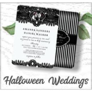 HALLOWEEN WEDDINGS