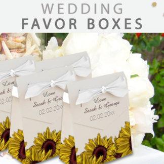 Wedding Favor Boxes