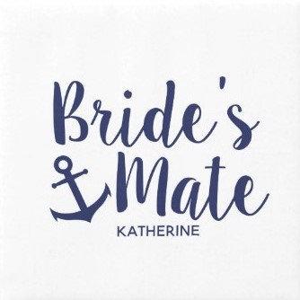 Nautical Bride's Mate
