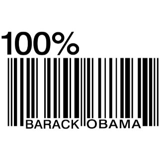 100% Obama Barcode