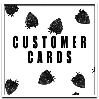 Customer Cards