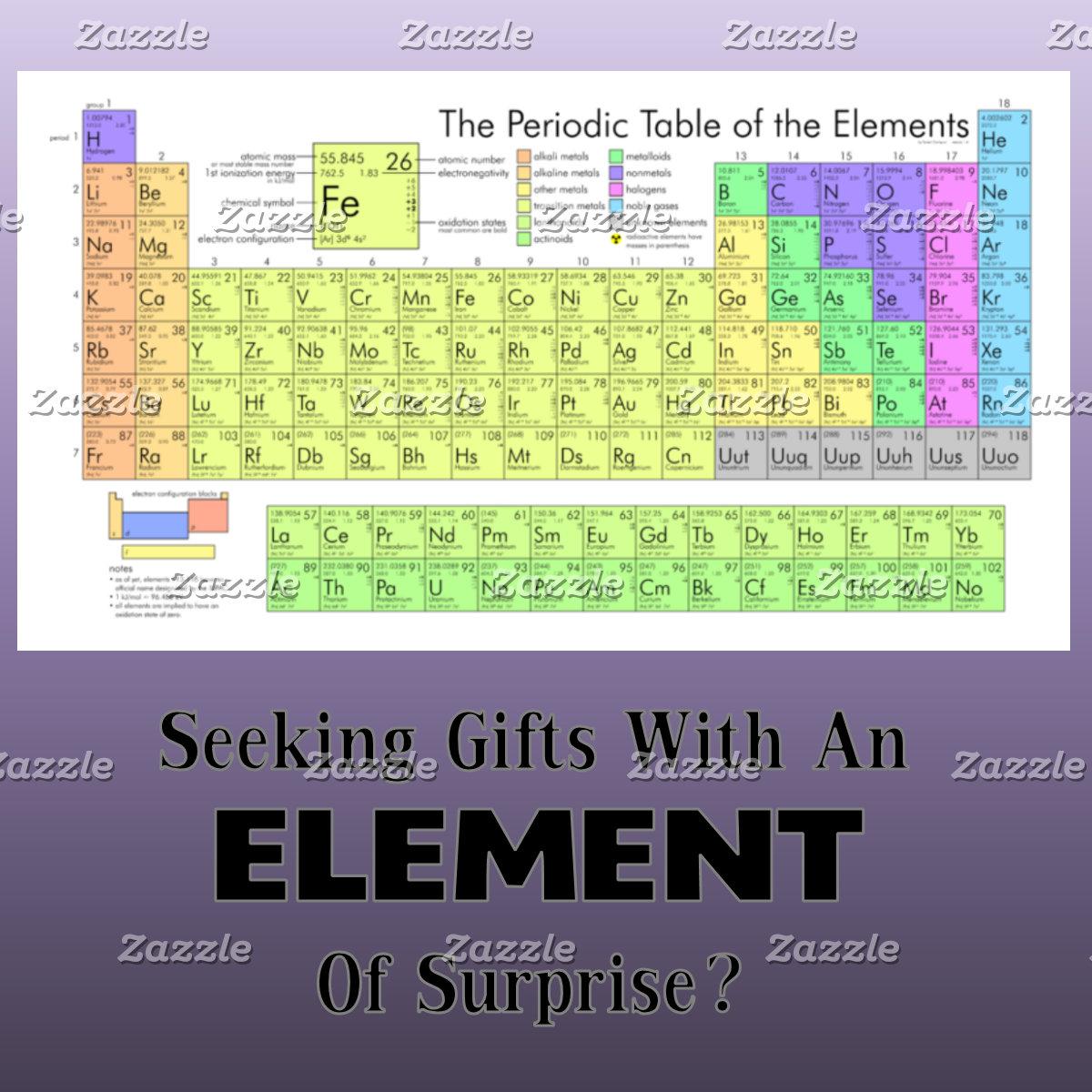 Periodic Table Gear