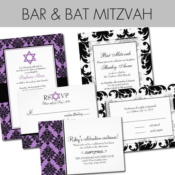 Bat Mitzvah / Bar Mitzvah