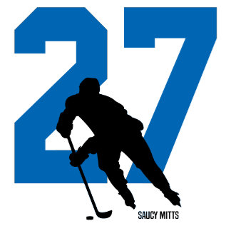 Custom Hockey Number