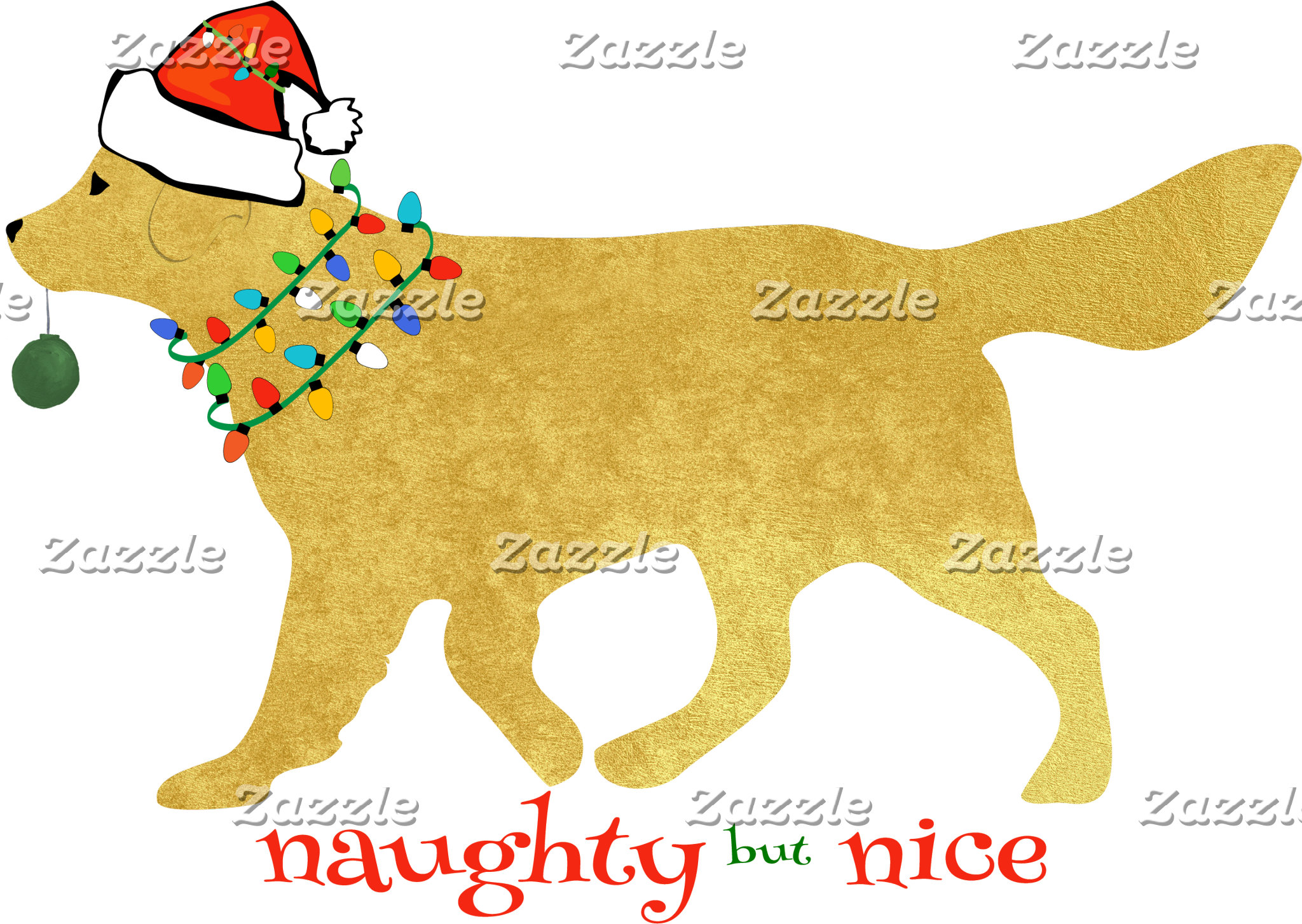 Naughty but Nice Retriever