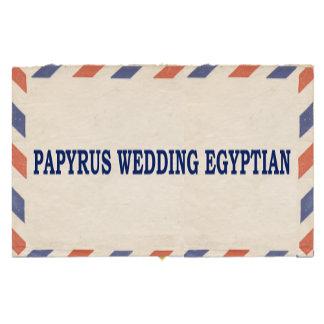 PAPYRUS WEDDING EGYPTIAN