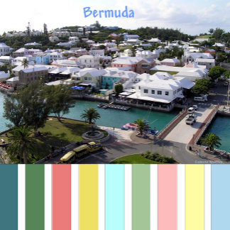 Bermuda - Tropical colors