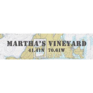 Nautical Boating Charts: Martha's Vineyard