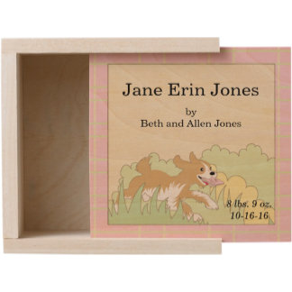 Baby Shower Keepsake Box (Large & Small)