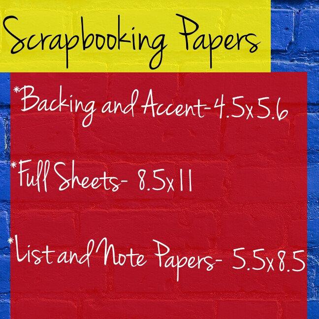 Scrapbooking Papers