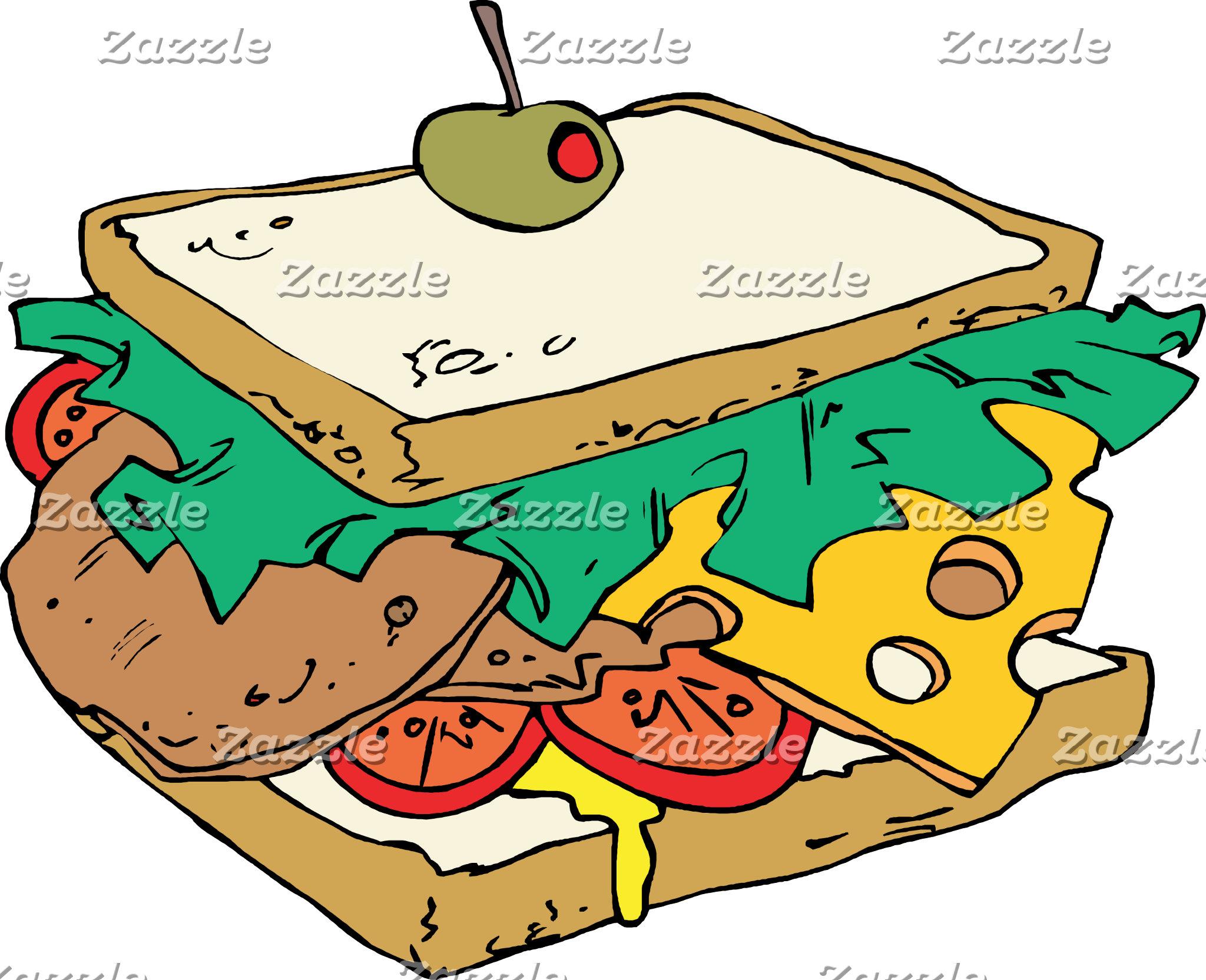 Food Snack Cartoon
