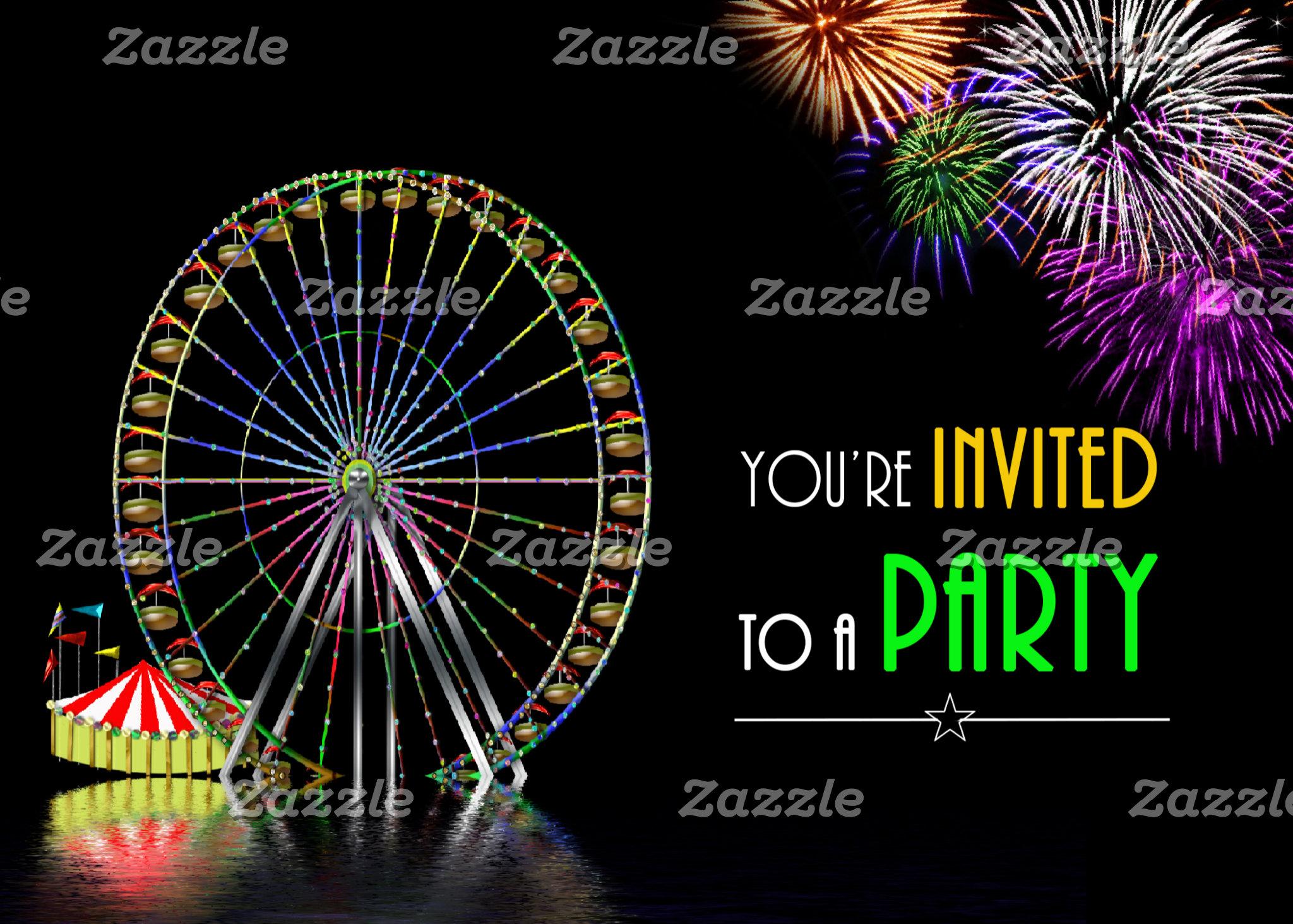 CARDS - INVITATIONS ETC.