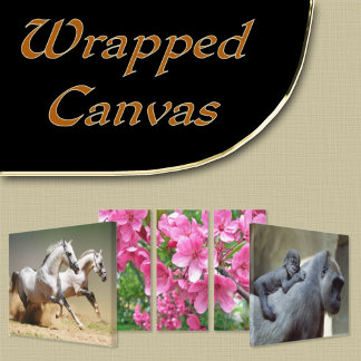 2. WRAPPED CANVAS ART