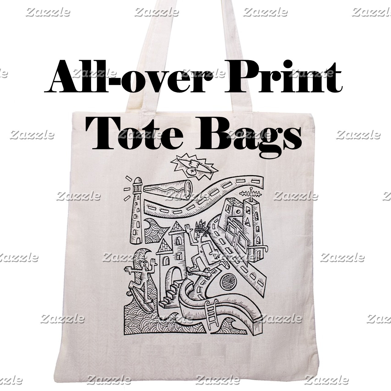 Bags~All-over Print