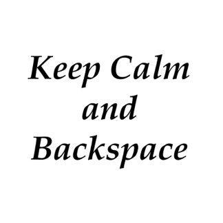 BackSpace