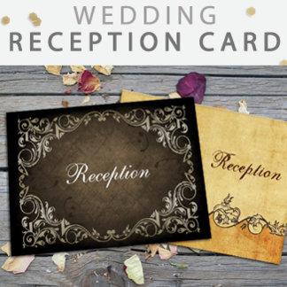 Wedding Reception Cards