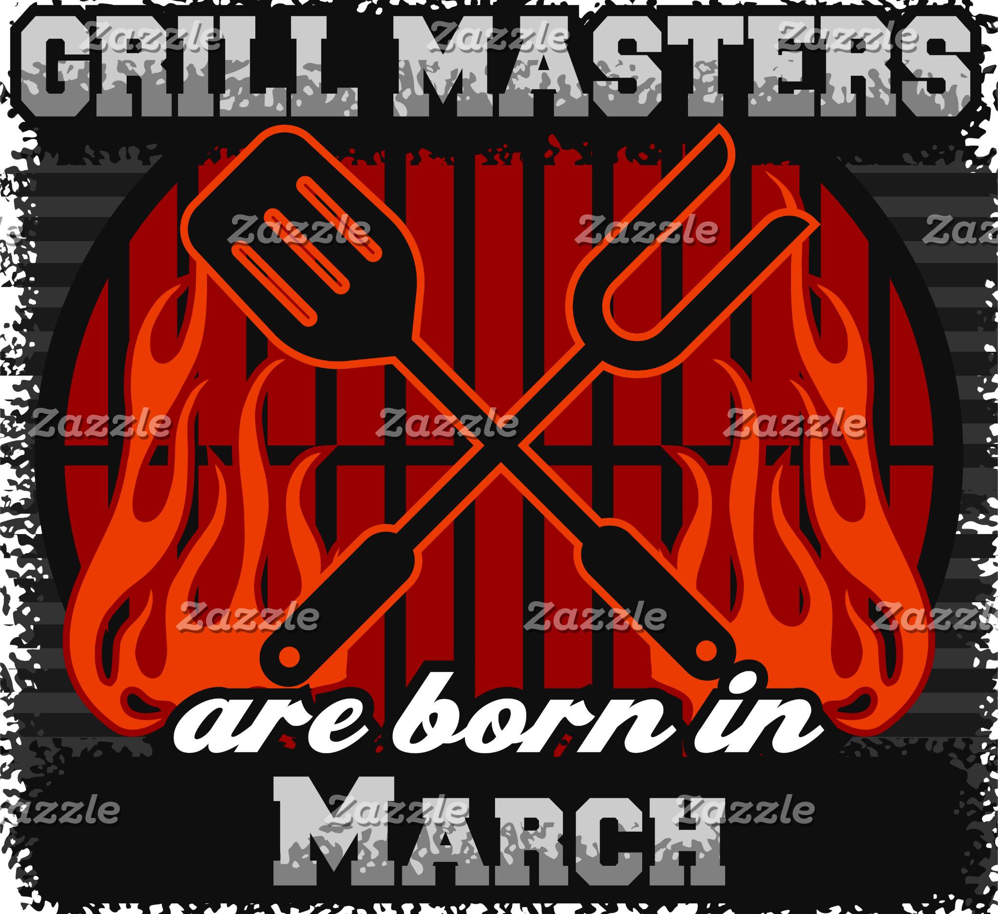 March - Grill Masters Are Born In