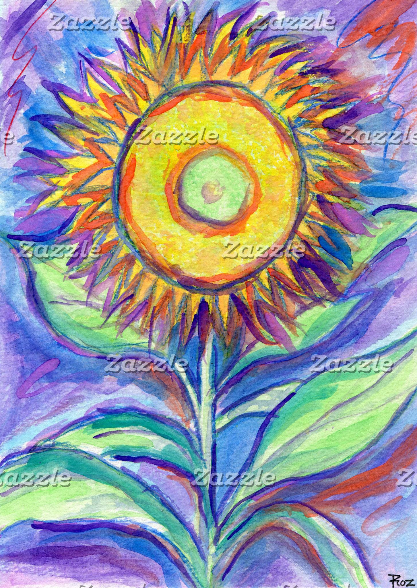 Flagler Beach Sunflower