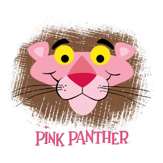 Head Shot of Pink Panther Smiling