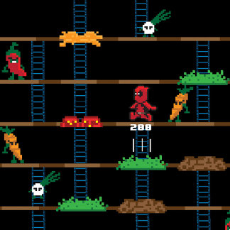 Retro Deadpool Taco Video Game