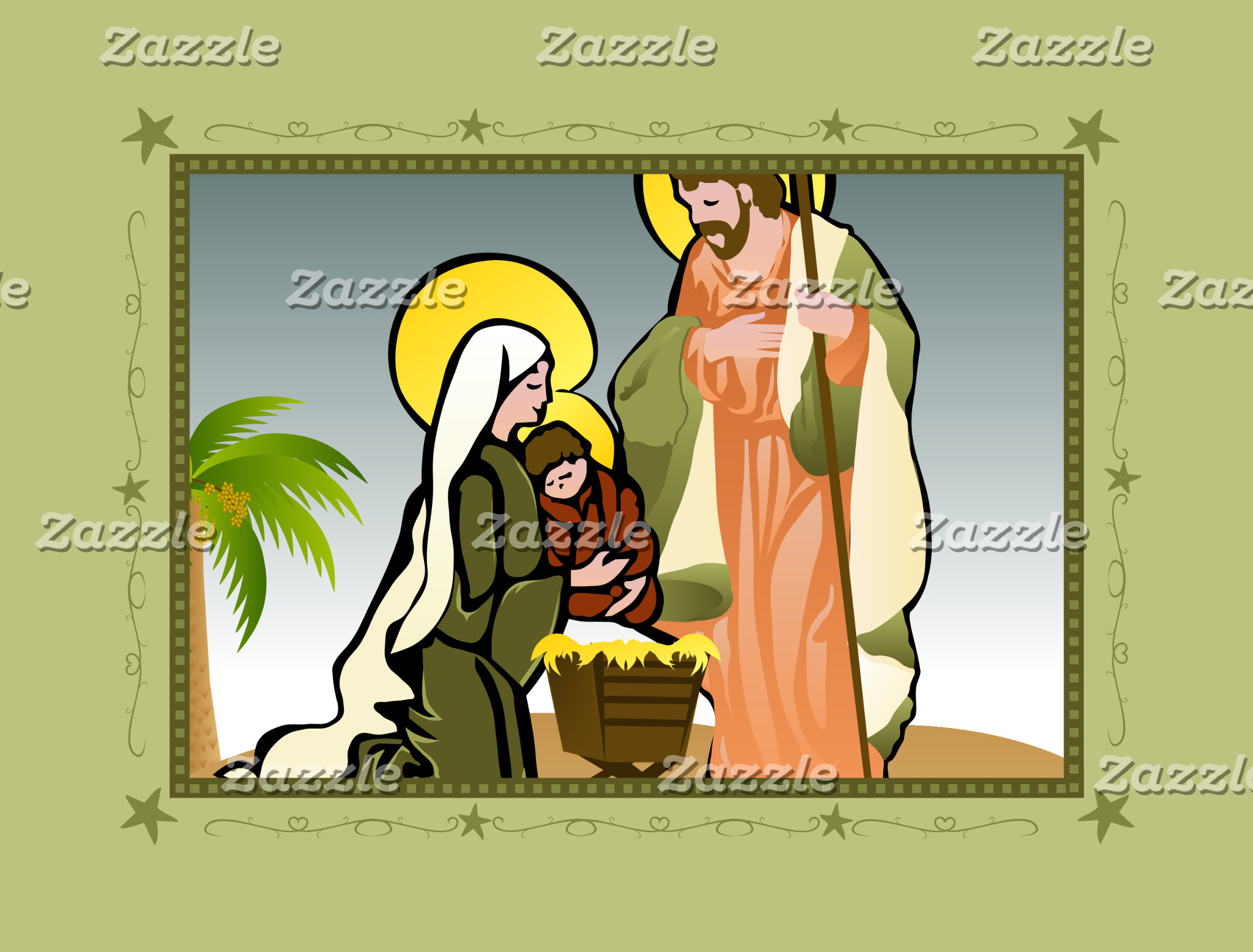 Nativity (Green)