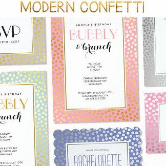 Modern Confetti