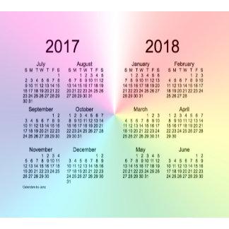 School Year Calendars by Janz