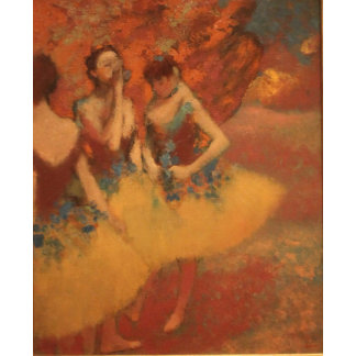 Edgar Degas | Dancers in Yellow Skirts