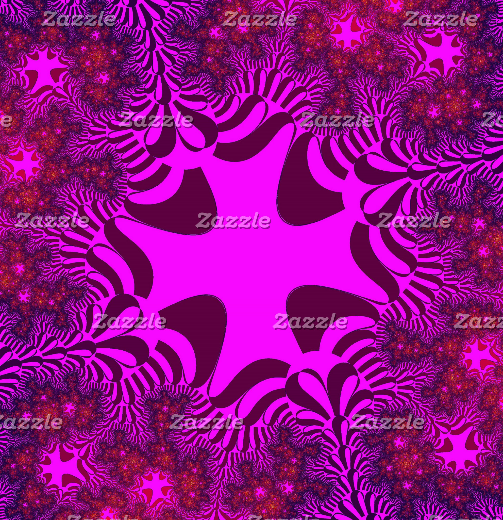 Fractal Cross Designs