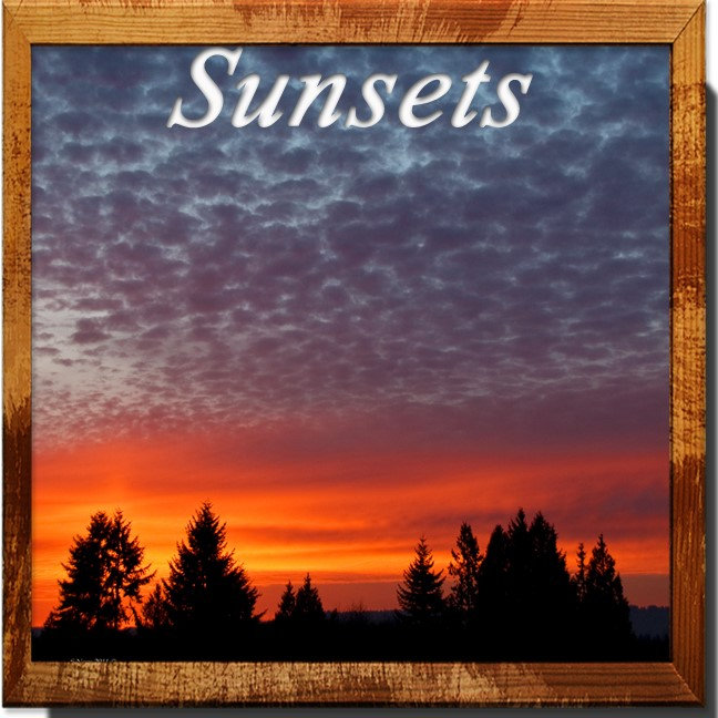 Sunsets and landscapes