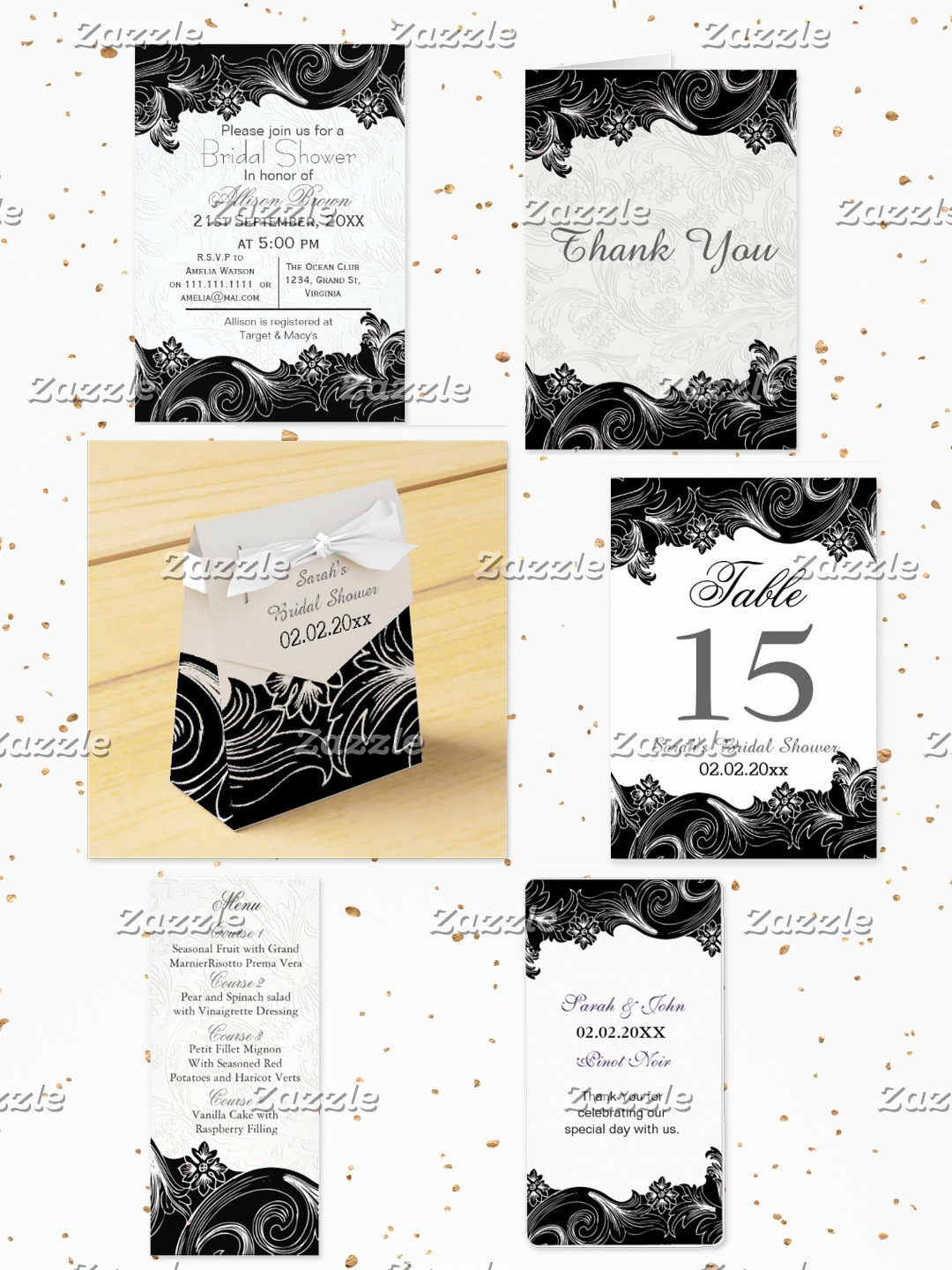 Black and White Theme Party