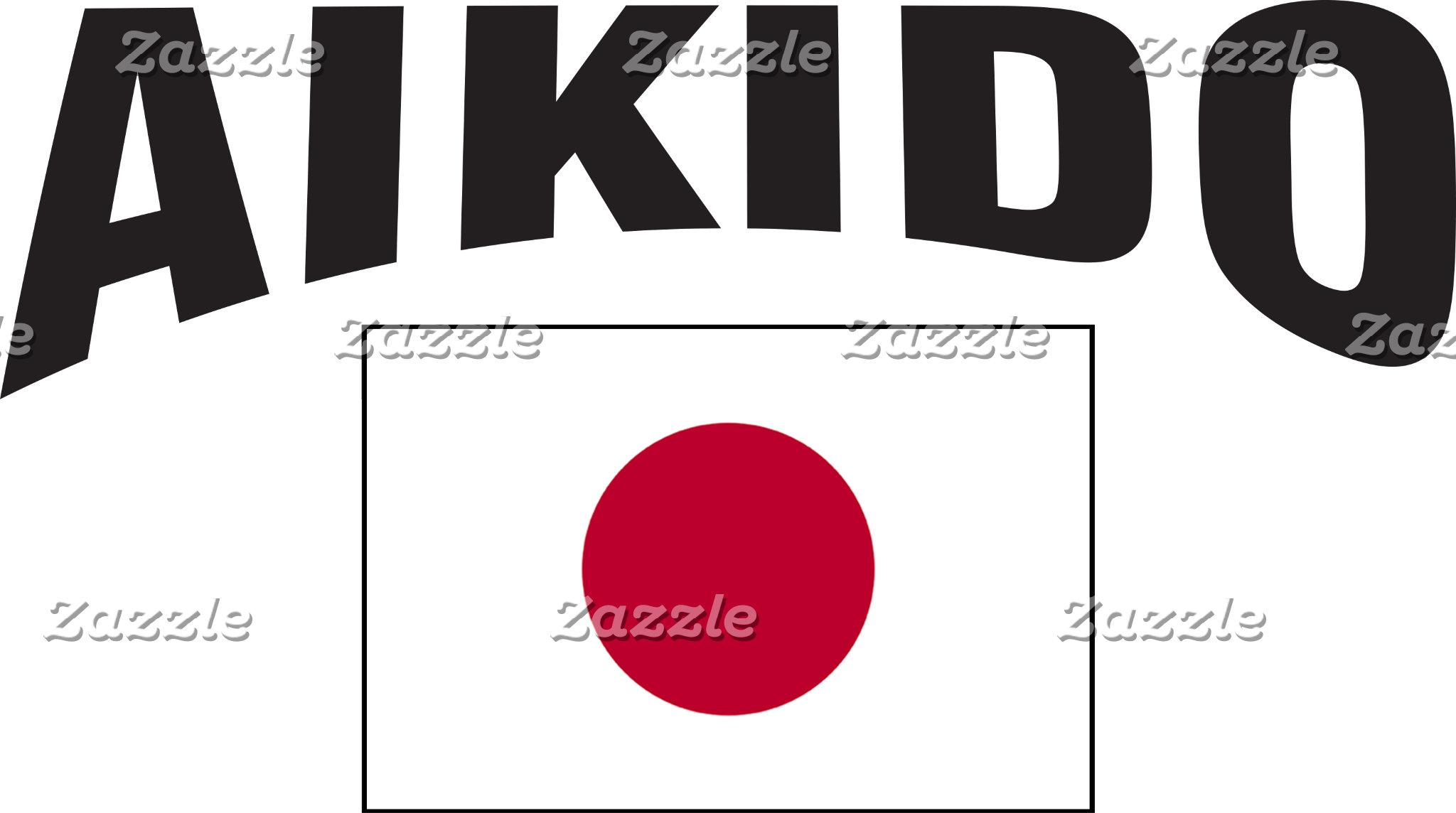 Aikido Japan Flag