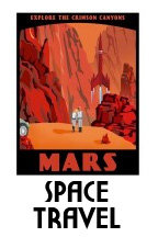 Vintage Space Travel Posters