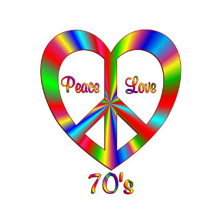 70s Peace Love