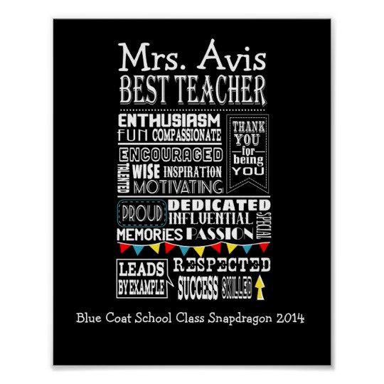 Teacher Posters & Cards