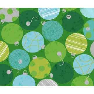 blue and green ornament pattern
