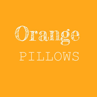 Orange & Coral Pillows