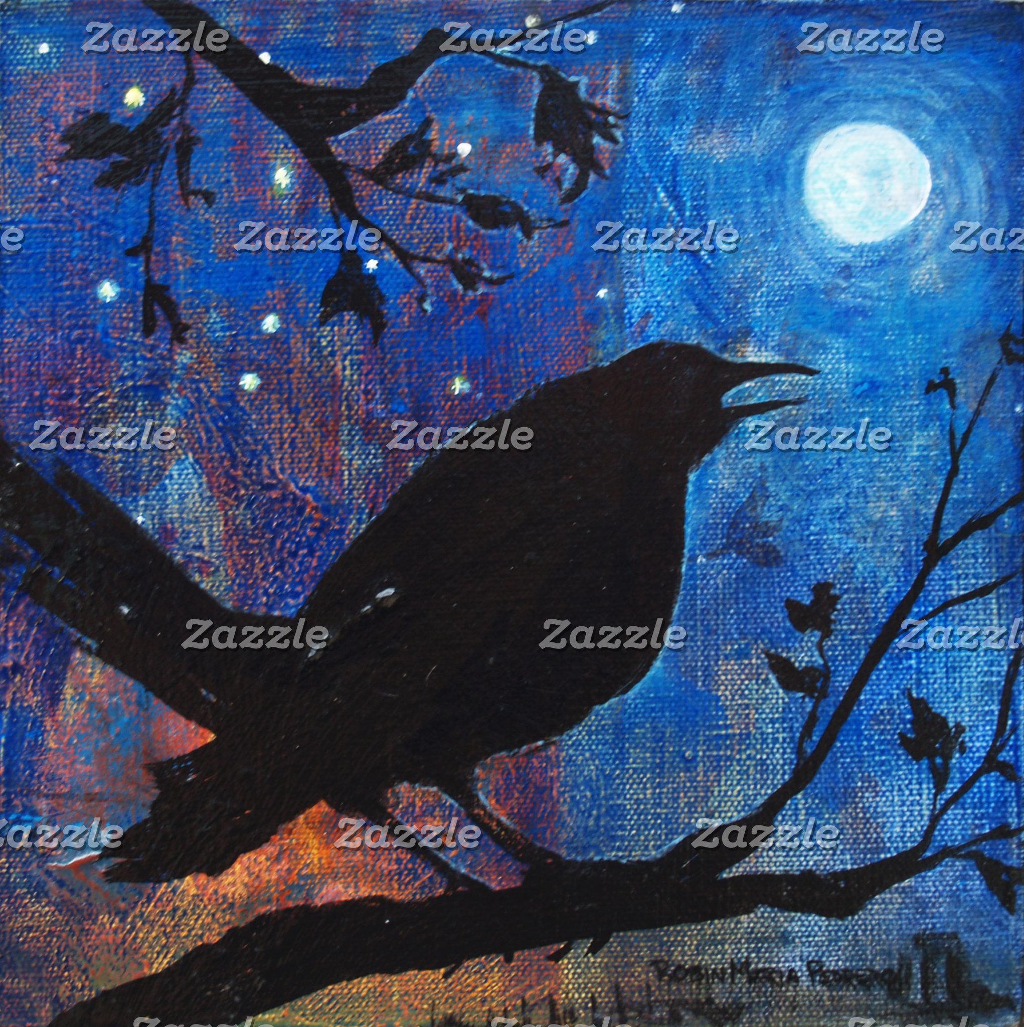 Crows Ravens Blackbirds