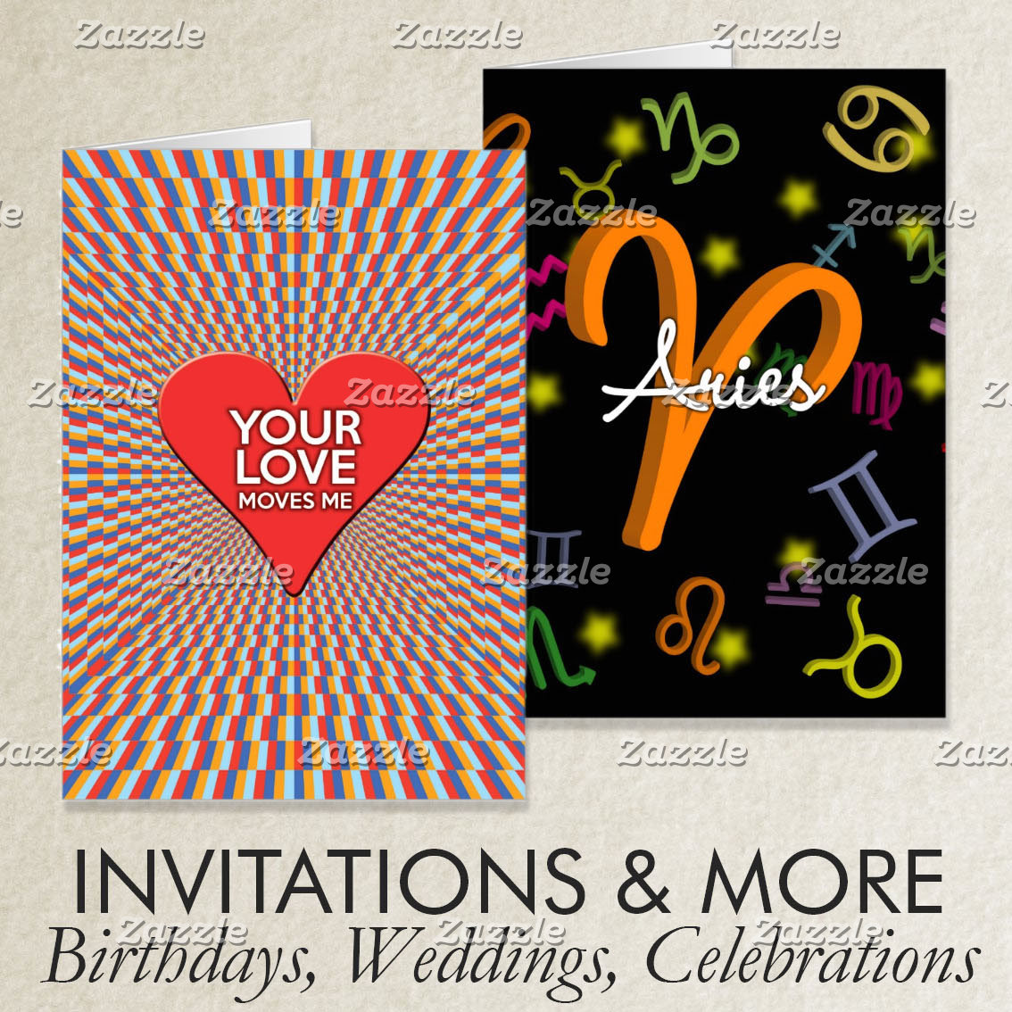 Invitations and more