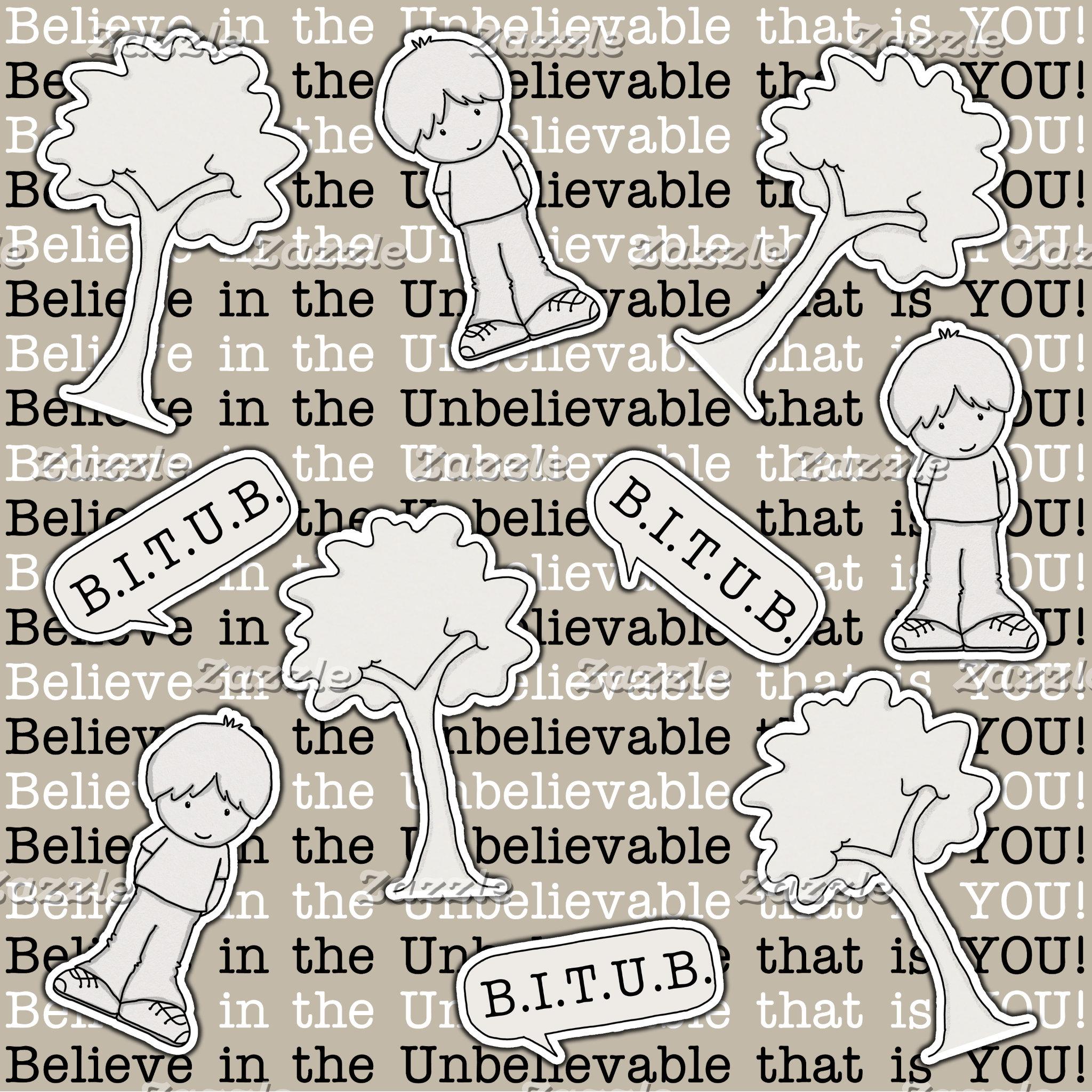 BITUB Pattern (Believe in the Unbelievable)